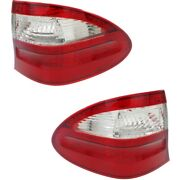 Tail Light For 2004-2006 Mercedes-benz E500 Driver And Passenger Side Outer