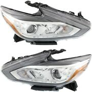 Headlight Lamp Left-and-right Ni2502247c Ni2503247c 260609hs0a 260109hs0a