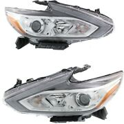 Headlight Lamp Left-and-right Ni2502247 Ni2503247 260609hs0a 260109hs0a