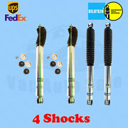 Bilstein Shocks 3-4 Front And Rear Lift For Jeep Wrangler Yj 4wd 86-`95 Kit 4