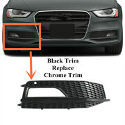 Right Fit For Audi S4 A4 Sline B8.5 2013-2016 Bumper Fog Light Grill Grille Grid