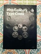 32 Coin Type Collection Of Us 20th Century Coins Album Set.look At Picturesnice