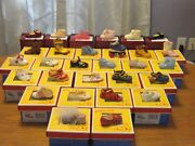 Complete Set Of 31 Raine Dropskids Children Baby Just The Right Shoes Rare +++
