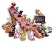 Complete Set Les Fées Miniature Shoes- Natural Materials Handcrafted Just Right