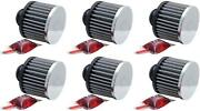 K And N Filters 62-1490 Crankcase Breather Filter 6 Pack