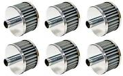 K And N Filters 62-1160 Crankcase Breather Filter 6 Pack