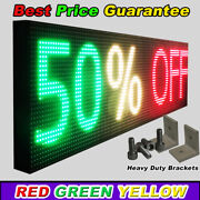Wifi Neon Open Led Sign Tri Color 25 X 101 Store Shop Marquee Business Display