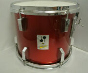 Sonor Made In Germany Performer Series 13 Red Rack Tom For Your Drum Set K163
