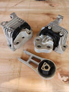 Complete Engine Motor And Transmission Mount Set 3pcs For Jeep Cherokee 2.4l