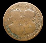 France 1660 Marriage Of Louis Xiv Bronze Medal - By Warin