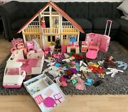 Vintage 1960's Barbie Dream House And More