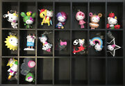 2011 Hello Kitty Sanrio X Tokidoki Figure Key Chain Vinyl Open Blind Box Rare