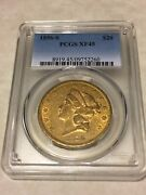 1856-s Xf45 Pcgs Liberty Double Eagle Type 1 20 Gold Coin Eyeclean Lustrous