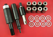 6.4l Powerstroke Fuel Injector Sleeve Puller + Installer Set W/ Cups And O-rings