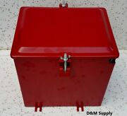 Deluxe Farmall Ih International Tractor Super A C Painted Battery Box 350634r91