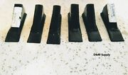 6 Pack Of Box Blade Scape Blade Ripper Shanks Points Tips For 3/4 Thk Shanks