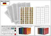 1 Look 1-7394-5 Coin Sheets Leaves Premium 54 Compartments For To 0 25/32in