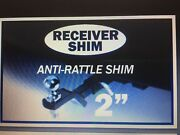 2and039and039 Hitch Receiver Shim Anti-rattle Towing