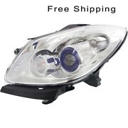 Halogen Head Lamp Assembly Driver Side Fits 2008-2012 Buick Enclave Gm2502311