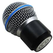 Wireless Mic Replacement Capsule Head For Shure System Sm58 Beta58/58a Pg24