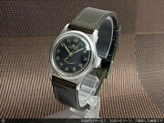 Mido Multifort Center Second Black Dial Automatic Vintage Watch 1950and039s