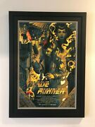 James Jean - Blade Runner Screen Print Framed 24 X 36 Edition Of 40 Numbered
