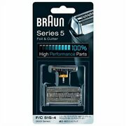 Braun Out/in-side Outer Inner Blade Foil Head Electric Shaver S-4