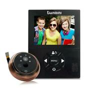 3 Inch Motion Detection Camera Video Doorbell Electronic Cat Eye Peephole Viewer