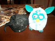 Furby --very Interactive Teal/white With A Darth Vader Costume Cool