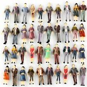 150 Scale O Gauge Hand Painted Layout Model Train People Figure