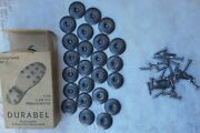 Military Norway Contents Round Saddle Saver With Nails - Military Boots Shoes
