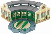 Fisher-price Thomas The Train Wooden Railway Tidmouth Sheds Free Shipping