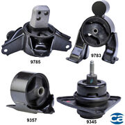 Engine Motor And Auto Trans. Mount 4pcs Set For Kia Forte And Forte Koup 10-13