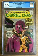 New Adventures Of Charlie Chan 1 1958 White Pages Cgc 6.5 1968748003