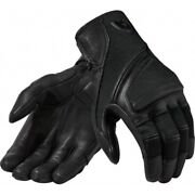Leather Gloves Fabric Motorcycle Revand039it Pandora Black S Black Gloves