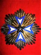 France Colonial - Order Of The Black Star Of Benin, Grand Officer's Medal French