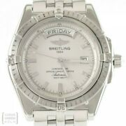 Breitling Uhr Headwind Day-date Automatik Ref. A45355 Revision