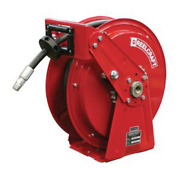 Reelcraft Dp7650 Ohp Andndash 3/8 In. X 50 Ft. Compact Dual Pedestal Hose Reel