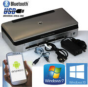 Usb And Bluetooth Mobile Printer Hp Officejet 100 For Windows Xp 7 10 And Android