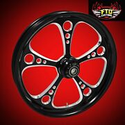 Ftd Customs Fat Front Wheel And Tire Kit 3-shot 180mm Fat Front Tire And Wheel