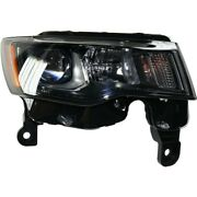 Headlight Lamp Right Hand Side Passenger Rh For Jeep 17-19 Ch2503309c 68266646ad