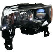 Headlight Lamp Left Hand Side Driver Lh Ch2502309c 68266647ad For Grand Cherokee