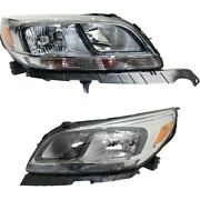 Headlight Lamp Left-and-right For Chevy Lh And Rh Malibu Gm2502363c Gm2503363c