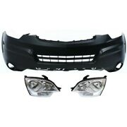Bumper Cover Kit For 2008-2010 Saturn Vue Front Lower
