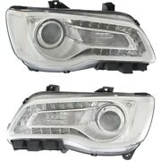 Headlight Lamp Left-and-right Ch2502268c, Ch2503268c 68196276ad, 68196277ad
