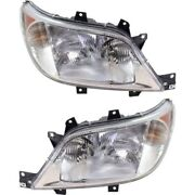 Ch2503172, Ch2502172 Headlight Lamp Left-and-right For Sprinter Lh And Rh 2500