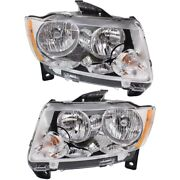 Headlight Lamp Left-and-right Ch2503224, Ch2502224 55079378af, 55079379af