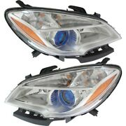 Headlight Lamp Left-and-right Gm2502379c, Gm2503379c 42435931, 95146963 Lh And Rh