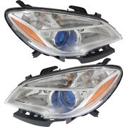 Headlight Lamp Left-and-right Gm2502379c Gm2503379c 42435931 95146963 Lh And Rh