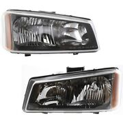 Headlight Lamp Left-and-right For Chevy Avalanche Lh And Rh Silverado 1500 2500 Hd